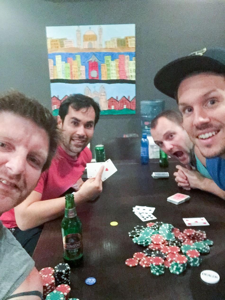 Day 27- Poker Night