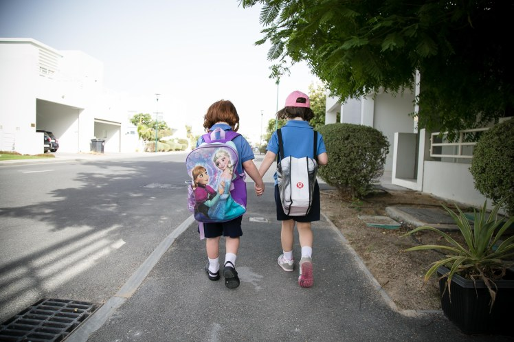 Day 7- Walking to School