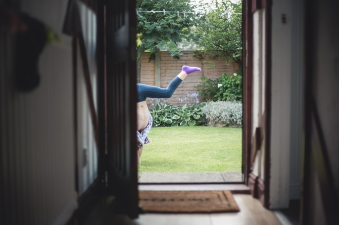 Cartwheels and Flowers