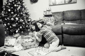 Sisters on Christmas